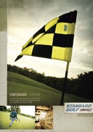 Catálogo Standard Golf - Interempresas