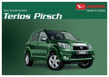 TERIOS Pirsch Prospekt - Daihatsu
