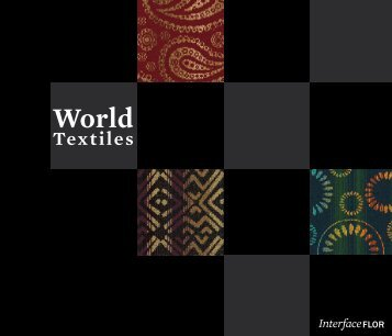 World Textiles brochure - Interface