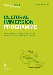 CULTURAL IMMERSION PROGRAMME - Interface