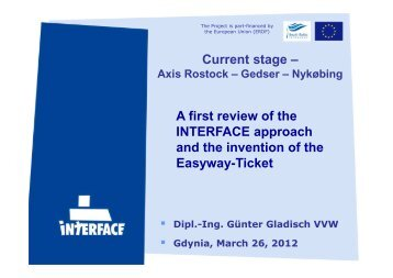Easy ticket - Interface