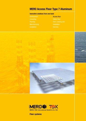 MERO Access Floor Type 7 Aluminum - Interflooring