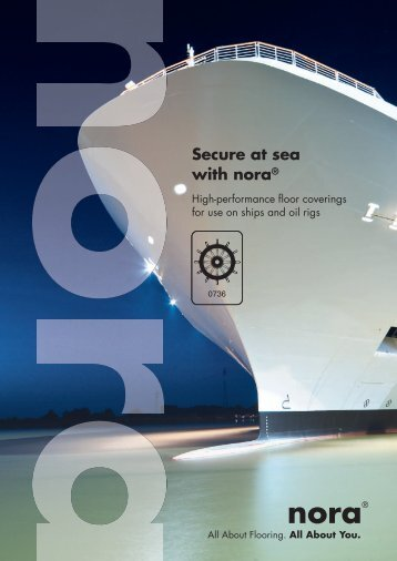 Secure at sea with nora® - Interflooring