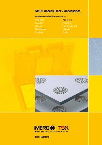 MERO Access Floor / Accessories - Interflooring