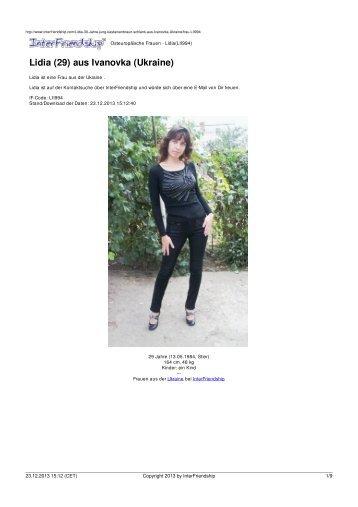 Osteuropäische Frauen - Lidia†LII994‡