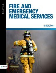 Fire and Emergency Medical Services Brochure - Intergraph