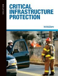 CRITICAL INFRASTRUCTURE PROTECTION - Intergraph