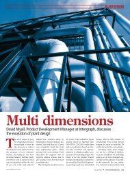 Multi Dimensions: The Evolution of Plant Design - Intergraph