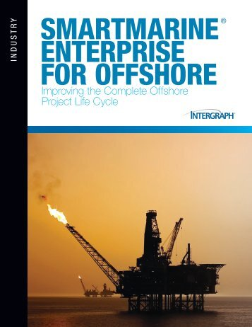 SmartMarine Enterprise for Offshore Brochure - Intergraph
