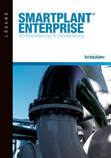 Broschüre 3D Modellierung & Visualisierung - Intergraph