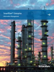SmartPlant® Enterprise SmartPlant® Enterprise - Intergraph