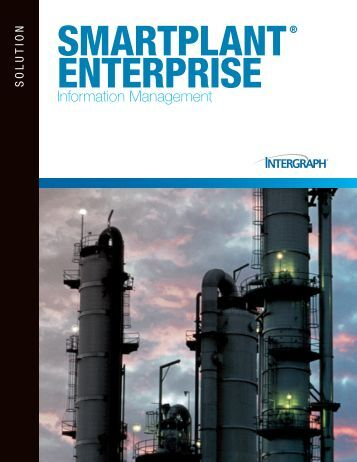 Information Management Brochure - Intergraph