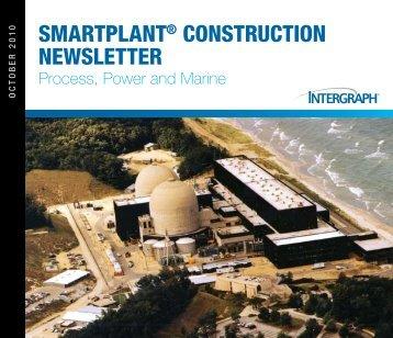 SMARTPLANT® CONSTRUCTION NewSLeTTeR - Intergraph