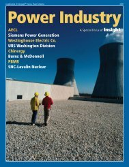 Read the Power Industry Spotlight - Intergraph