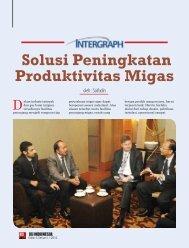 Solusi Peningkatan Produktivitas Migas - Intergraph