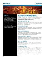 CADWorx® P&ID ProFESSIoNAL - Intergraph