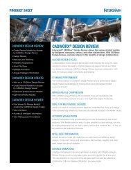 CADWorx® Design revieW - Intergraph