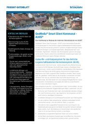 GeoMedia® Smart Client Kommunal - ALKIS® - Intergraph