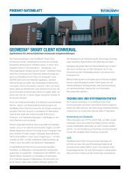 geomedia® smarT clienT kommunal - Intergraph