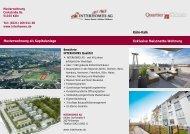 Musterwohnung als Kapitalanlage Exklusive ... - Interhomes AG