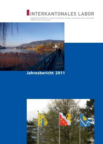 Jahresbericht 2011 - Interkantonales Labor