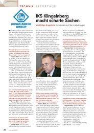 Der Bindereport im Interview mit Thomas Huhn, Ausgabe Juni 2008