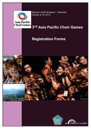 Registration form - Asian Choir Games 2013 - interkultur.com