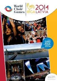 July 9 – 19, 2014 · Rīga, Latvia - interkultur.com