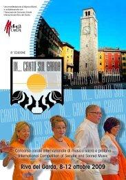 Riva del Garda, 8-12 ottobre 2009 - interkultur.com