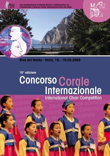 Internazionale ConcorsoCorale - interkultur.com
