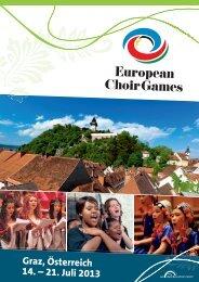 Graz, Österreich 14. – 21. Juli 2013 - interkultur.com
