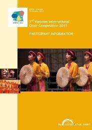 3. Vietnam Int. Choir Competition Hội-An 2013 - interkultur.com