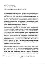 Sprachenpolitik in Europa - Gesellschaft für Interlinguistik
