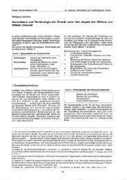 Nomenklatur und Terminologie der Chemie unter dem Aspekt des ...