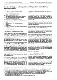 Über den Beitrag von lnterlinguisten zur Organisation internationaler ...