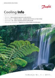 Cooling Info 2011 br 1 - Danfoss