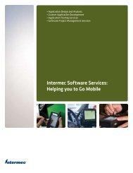 Software Services Brochure (PDF) - Intermec