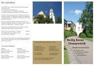 Schulflyer - Realschule Heilig Kreuz