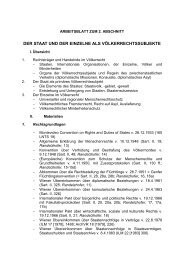 Voelkerrecht II.pdf - Walther-Schücking-Institut für Internationales ...