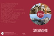 conferences exhibitions weddings corporate events meetings ...