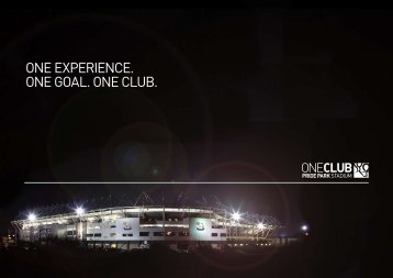 ONE EXPERIENCE. ONE GOAL. ONE CLUB. - International Confex