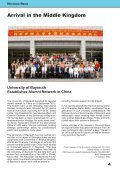 International Alumni News University of Bayreuth - Page 4