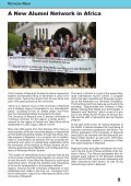 International Alumni News University of Bayreuth - Page 5