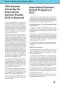 International Alumni News University of Bayreuth - Page 6