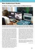 International Alumni News University of Bayreuth - Page 7