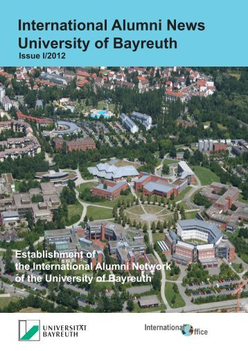 International Alumni News University of Bayreuth