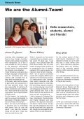 International Alumni News University of Bayreuth - Page 5