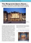 International Alumni News University of Bayreuth - Page 7