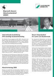 Absolventenbrief universitärer Mittelteil Uni 2008/II - International ...