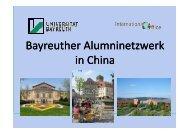 Präsentation BIAC für Shanghai - International Office - Universität ...